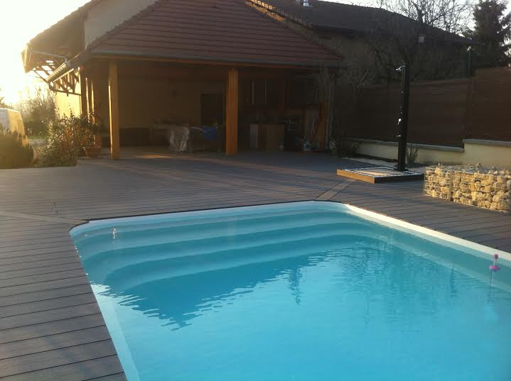 Prix piscine enterree 8x4 photos de conception de maison for Avis piscine coque polyester
