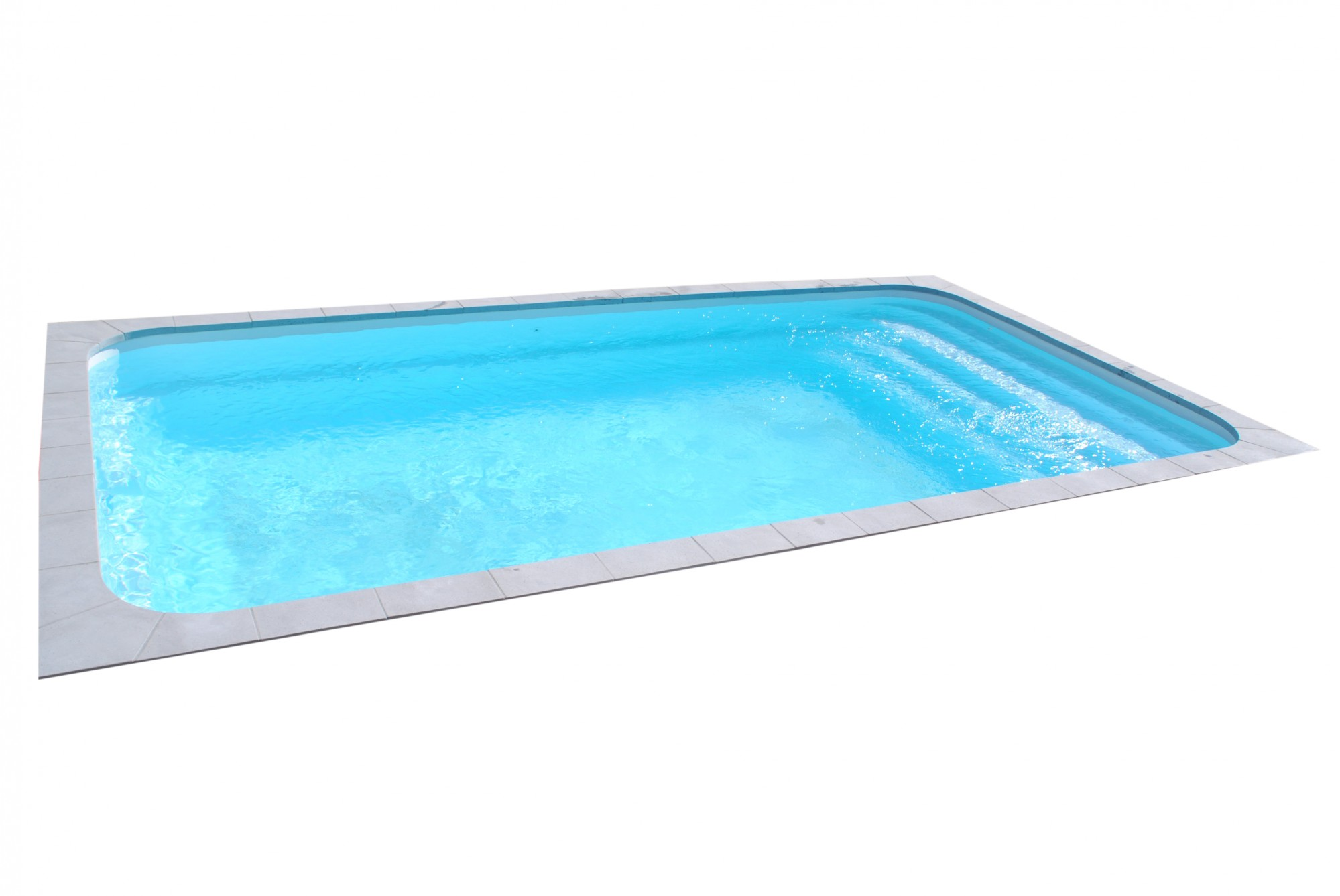 Vente et pose d 39 une piscine enterr e moderne 8x4 for Acheter piscine enterree
