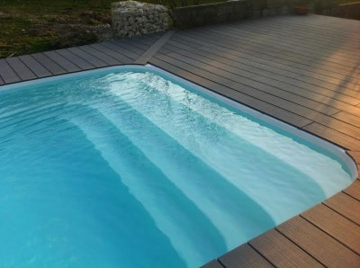Installation sur mesure de piscine coque sur marseille for Modele plage piscine